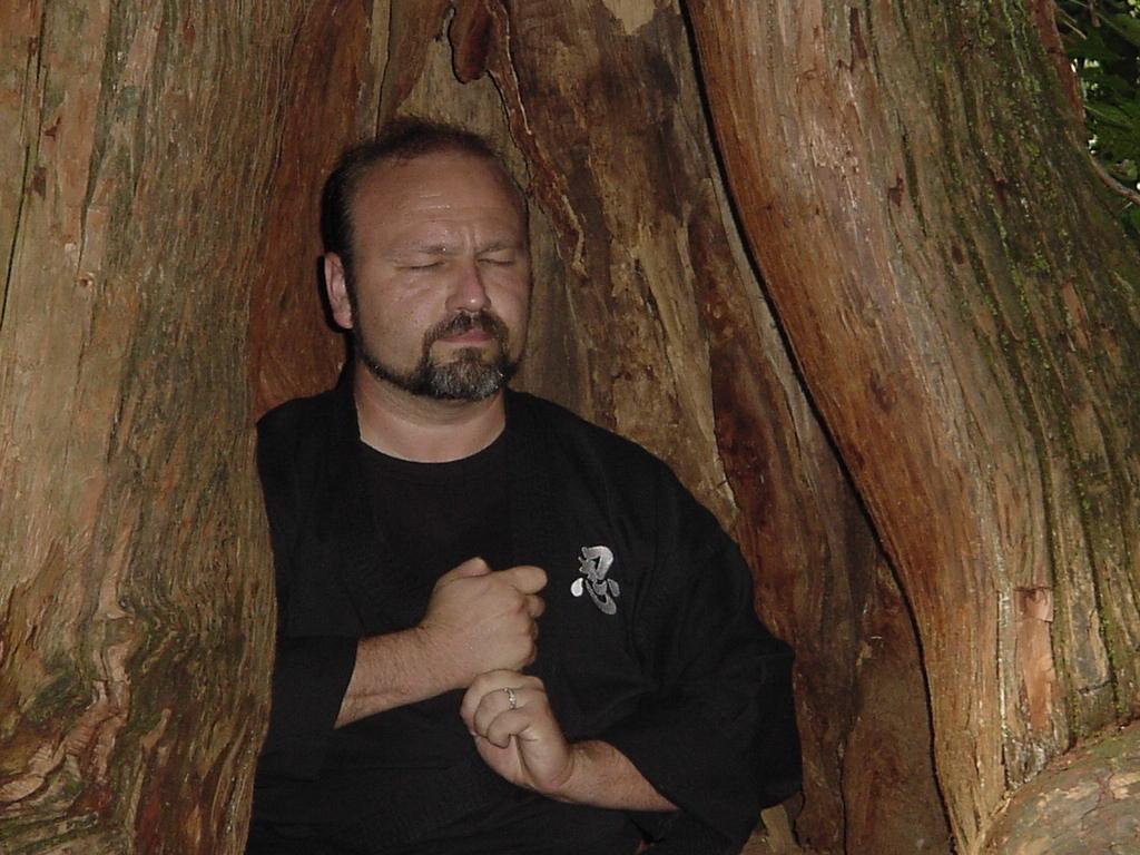 Ninpo-Mikkyo master-teacher Jeffrey M. Miller